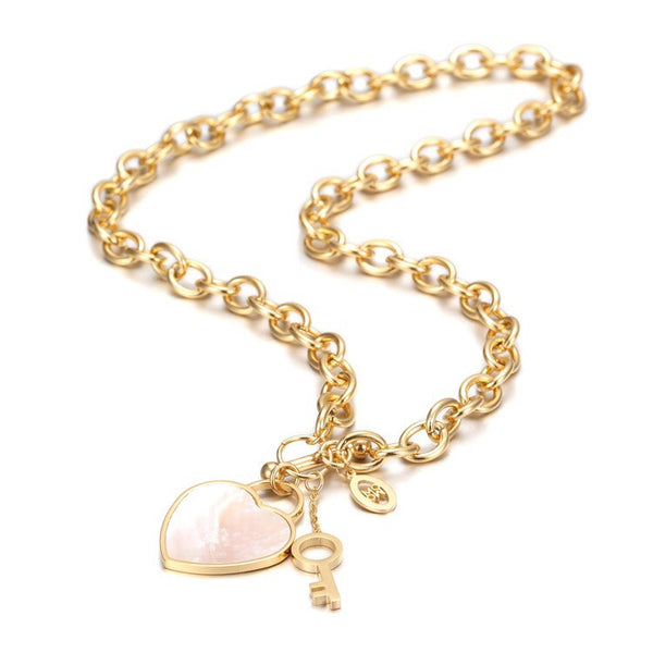 Key of Heart Necklace