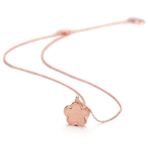 Five Leaf Clover Necklace
