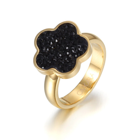 Five-leaf Clover Ring