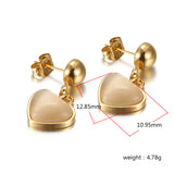 Key of Heart Earrings