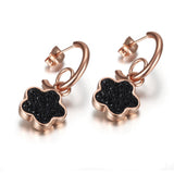 Five leaf Clover Earrings