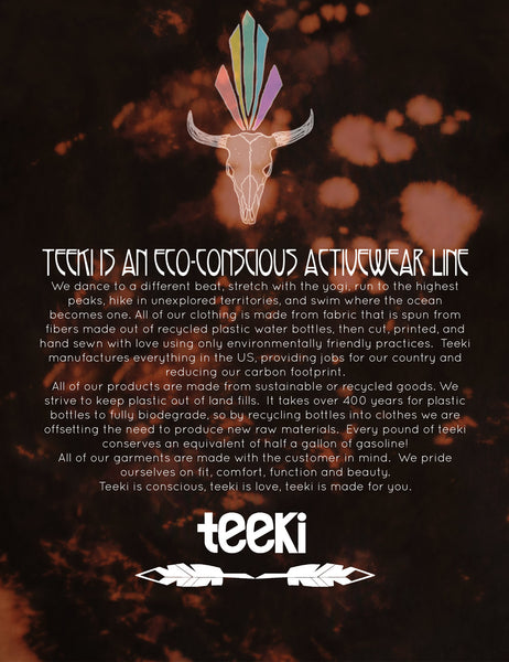 Teeki Sustainability
