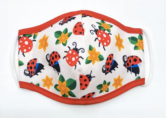 Ladybugs Kids Face Mask