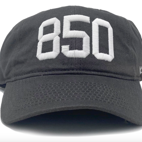 850 Charcoal Cotton Hat