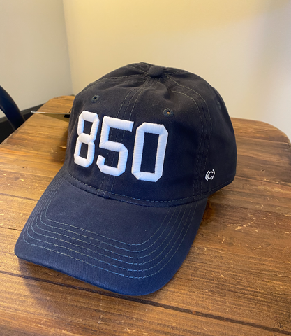 850 Navy Cotton Hat