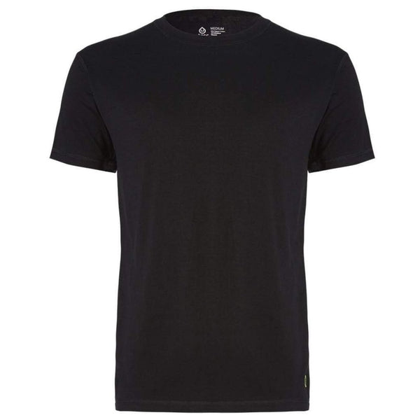 Crew Neck Undershirt - Black