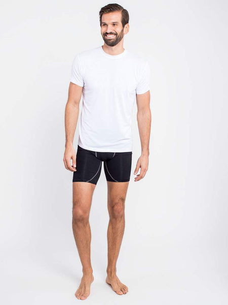 Crew Neck Undershirt - White