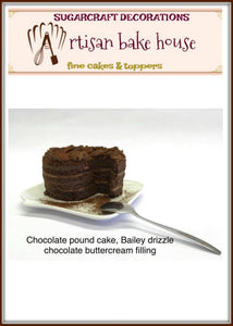ARTISAN BAILEY & CHOCOLATE CAKE