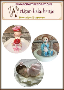 BABY FIGURINE TOPPER