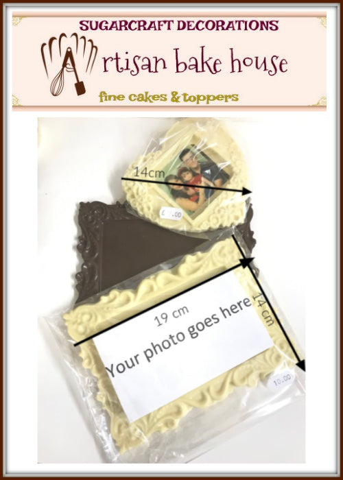 CUSTOM CHOCOLATE PHOTO FRAMES