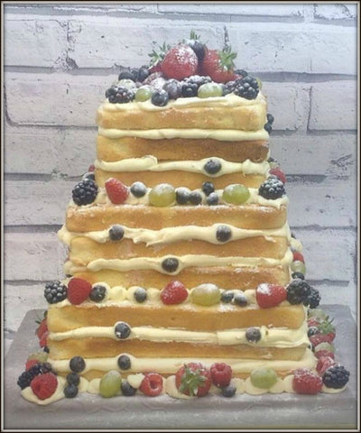 SORA wedding cake