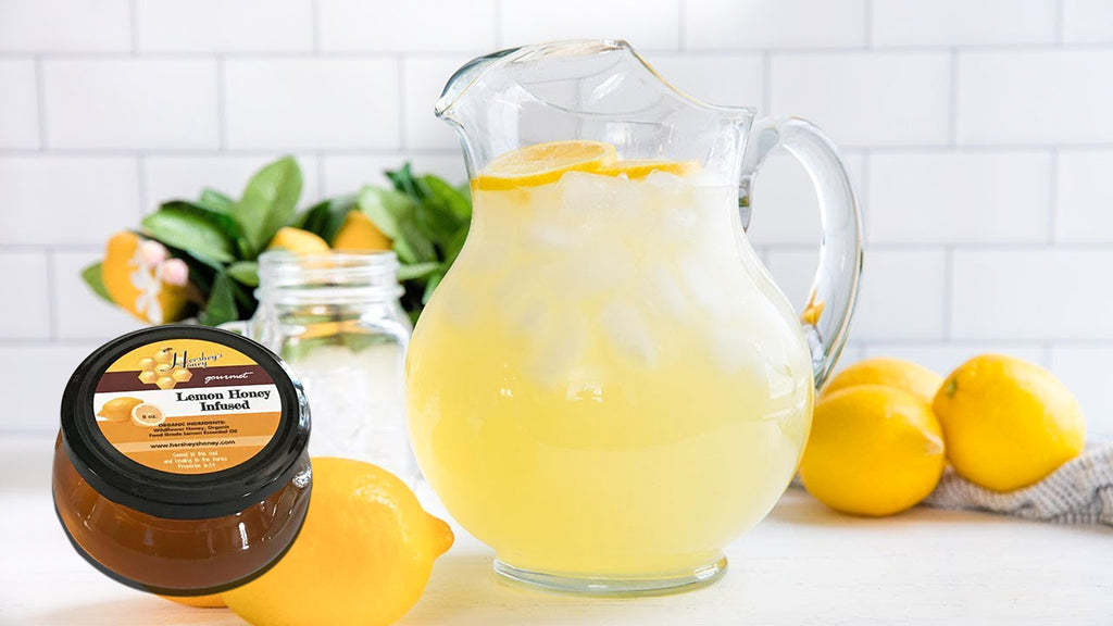 Lemon Infused Honey Lemonade