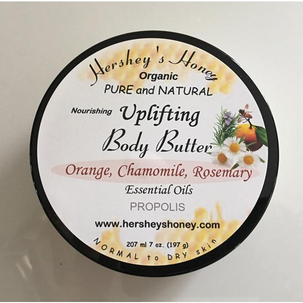 Making the Nourishing BODY BUTTER Uplifting with Essential Oils, Propolis for Normal to Dry Skin
