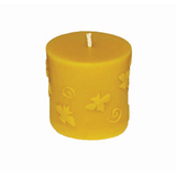 "Beeswax Buzzing Bee Cylinder Candle 3"" x 3"", Candle - Hershey's Honey"