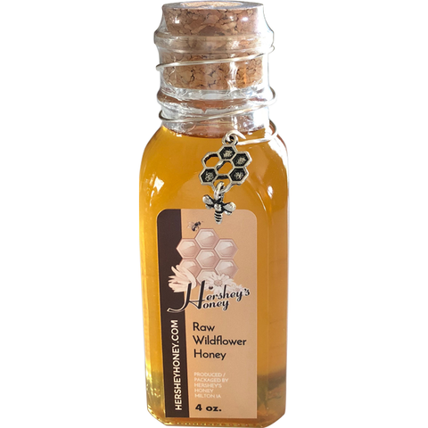 Wildflower Honey Muth (honeybee charm)