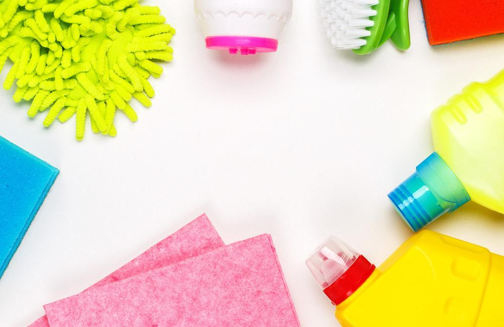 Cleaning Supplies Banner