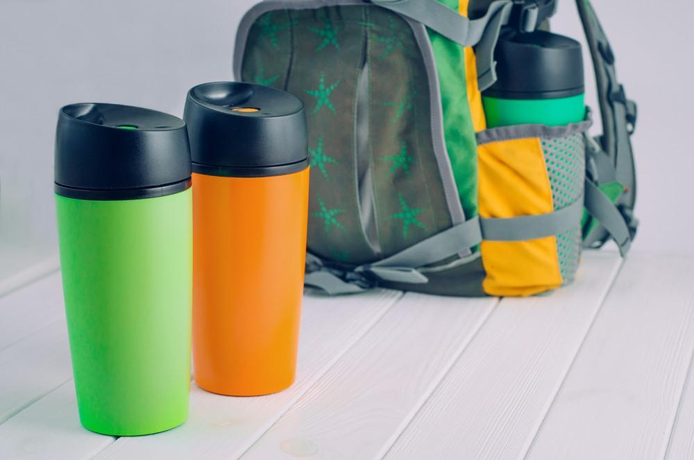 Travel & To-Go Drinkware Banner