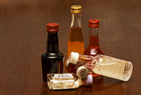 small liquor bottles for home bar