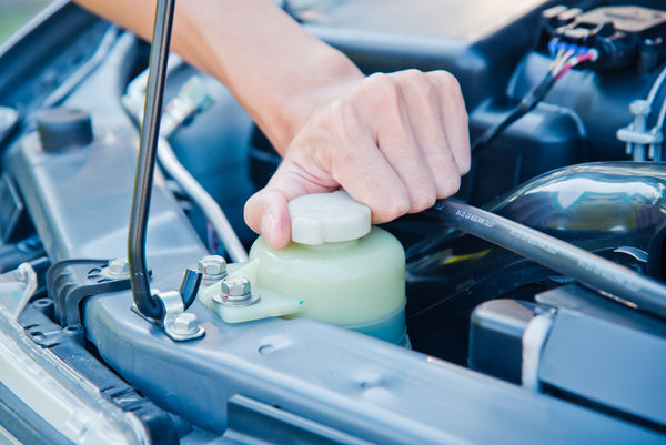 car-refill-coolant engine
