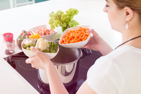 pressure cooking vegetables
