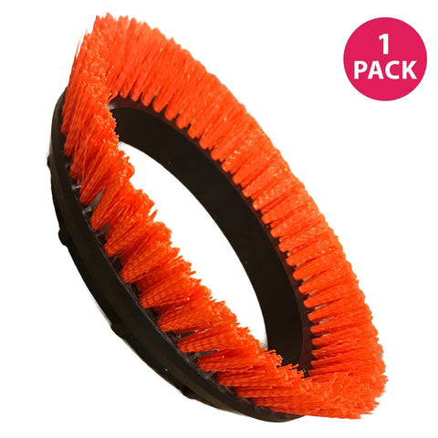 Crimped Polypropylene Scrub Orbiter Brush for Oreck Commercial 550MC ORB550MC Orbiter Floor Machine, 12'' Diameter, 0.028'', Replace Part # 237047