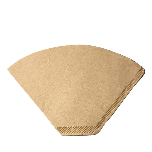100PK Unbleached Natural Brown Paper #2 Coffee Filters