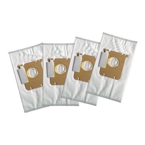 Replacement Cloth Bags, Fits Electrolux Style S & Eureka Style OX, Compatible with Part 61230, 61230A, 61230B & 61230C