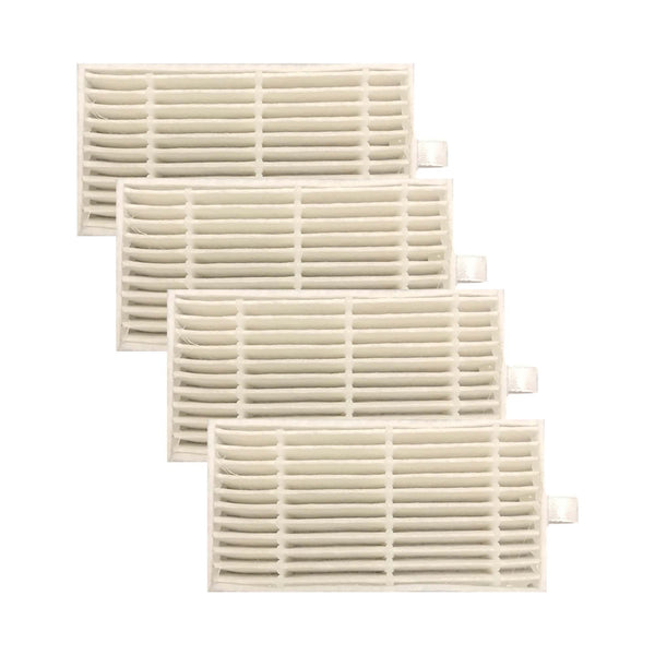 4 Replacements for iLife Filters, Compatible With V3s, V3s Pro, V5, V5s & V5s Pro Robot Vacuum