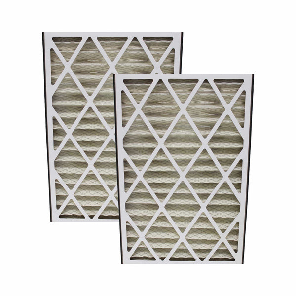 2pk Replacement 16x25x3 MERV-8 HVAC Furnace Filters, Fit Lennox BMAC-12C, Compatible with Part X0581