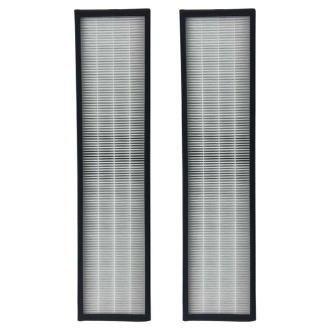 2pk Replacement HEPA Style C Air Purifier Filters, Fits GermGuardian, Compatible with Part FLT5000 & FLT5111