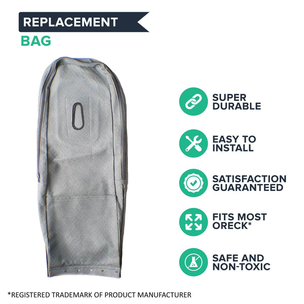 Replacement Outer Vacuum Bag, Fits Oreck XL, Washable & Reusable