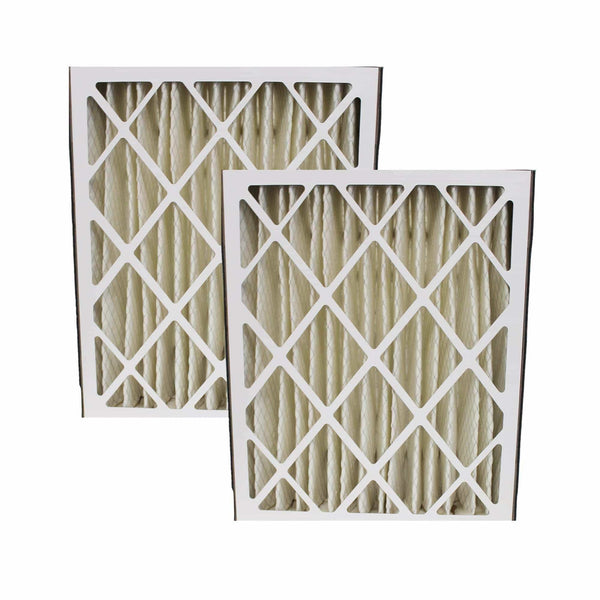 2pk Replacement Merv-8 20 x 25 x 5 Pleated HVAC Filters, Fits Carrier MF2025