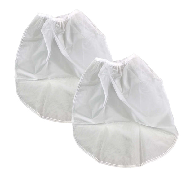 White Cloth 5 Gallon Strainer Bags For Cold Brew Systems.