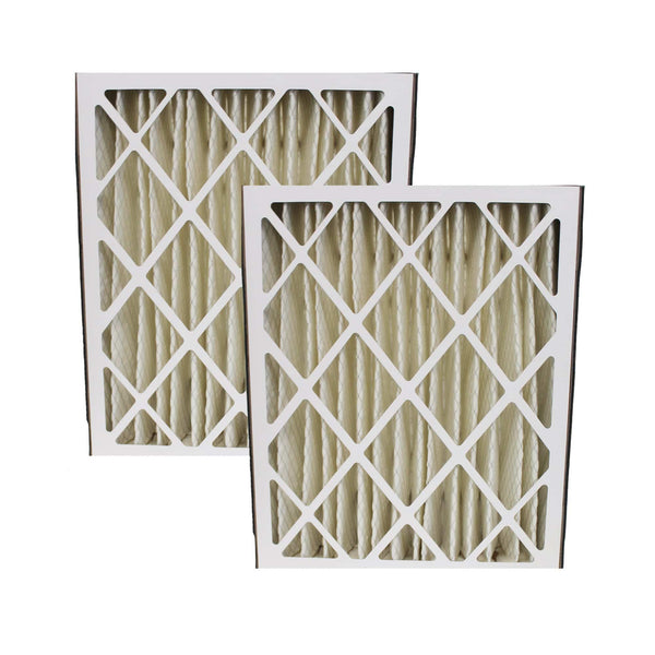 2PK Replacement Merv 8 20 in x 25 in x 5 in Pleated HVAC Air Filters, Fits Amana MU2025