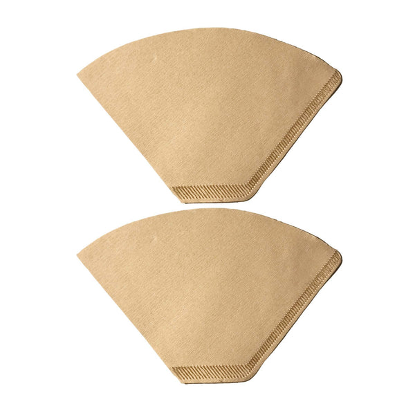 200PK Unbleached Natural Brown Paper #2 Coffee Filters
