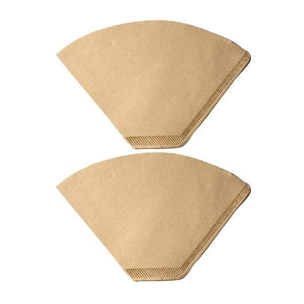 Unbleached Natural Brown Paper #2 Coffee Filters Fit Clever Small Coffee Dripper
