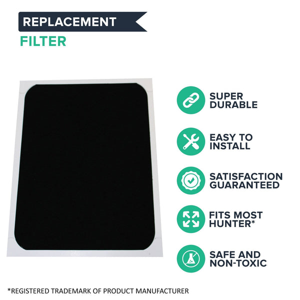 Think Crucial Replacements for Hunter 30920 Air Purifier Filter Compatible with 30050, 30055, 30065, 37065, 30075, 30080 & 30177 (1 Pack)