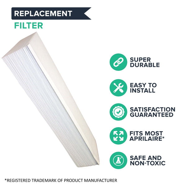 Replacement Aprilaire 201 Air Filter, Fits Aprilaire 2200 & 2250 Air Purifiers
