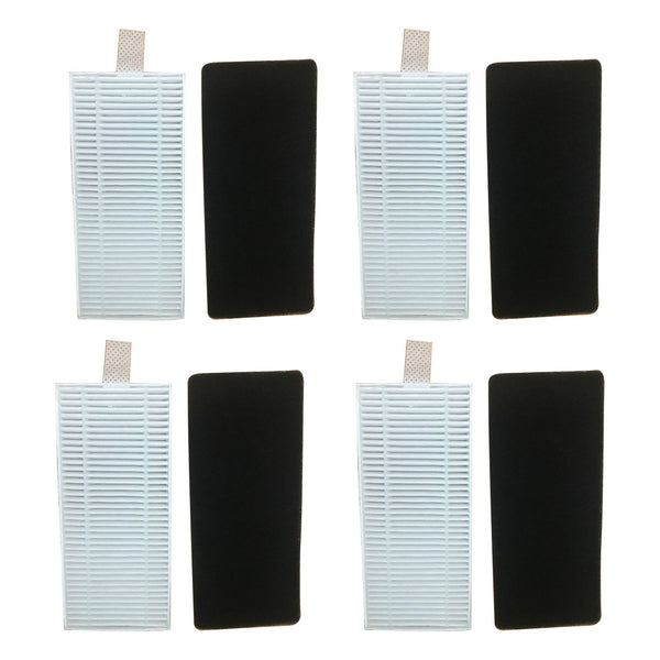 8PK Replacement Filter & Foam, Fit Eufy RoboVac 11 & 11C Vacuum Cleaners