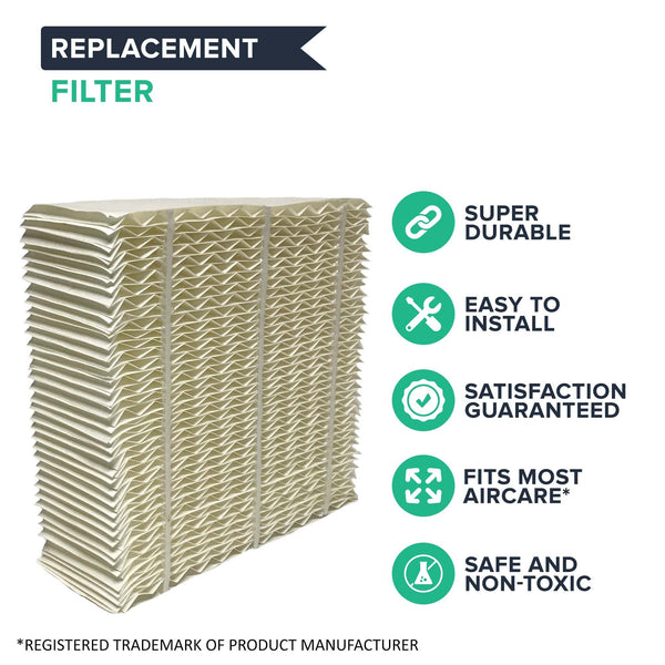 Replacement Paper Wick Humidifier Filter, Fits Aircare 1043, Spacesaver 800 Series