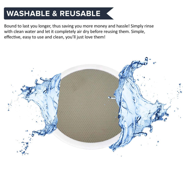 Replacement Deluxe Stainless Steel & Rubber Disk Filter, Fits All Toddy(R) Cold Brew Coffee Systems, Including T2N Model, Washable & Reusable