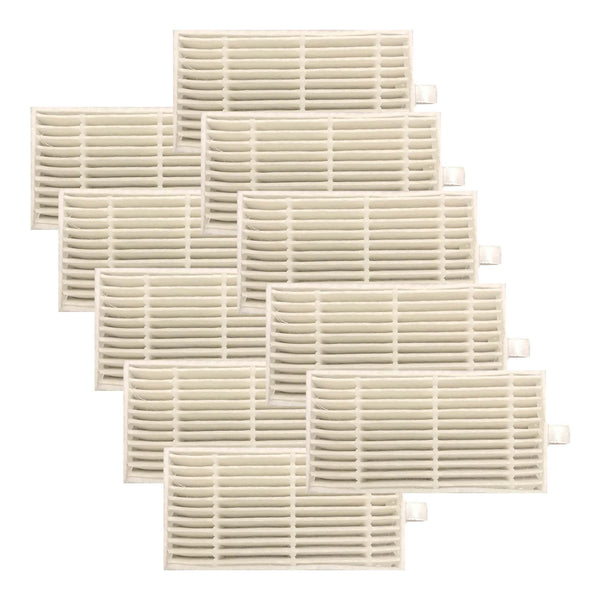 10 Replacements for iLife Filters, Compatible With V3s, V3s Pro, V5, V5s & V5s Pro Robot Vacuum