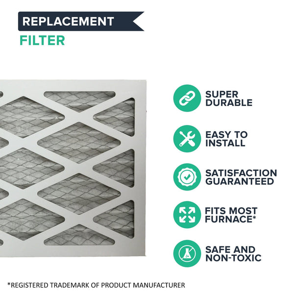 Think Crucial Furnace Air Filter Replacement Parts # 965661-01 DY-96566101 - Compatible With MERV Models - Filters Measure 16