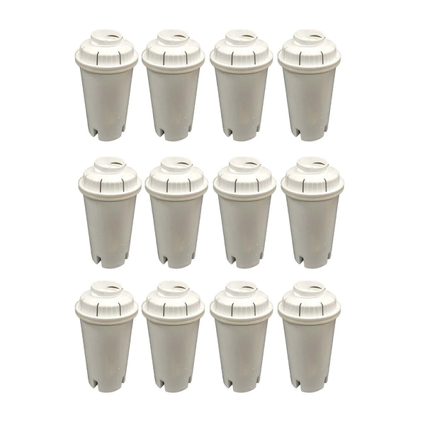 12pk Replacement Water Filters, Fits Brita Pitchers & Dispensers
