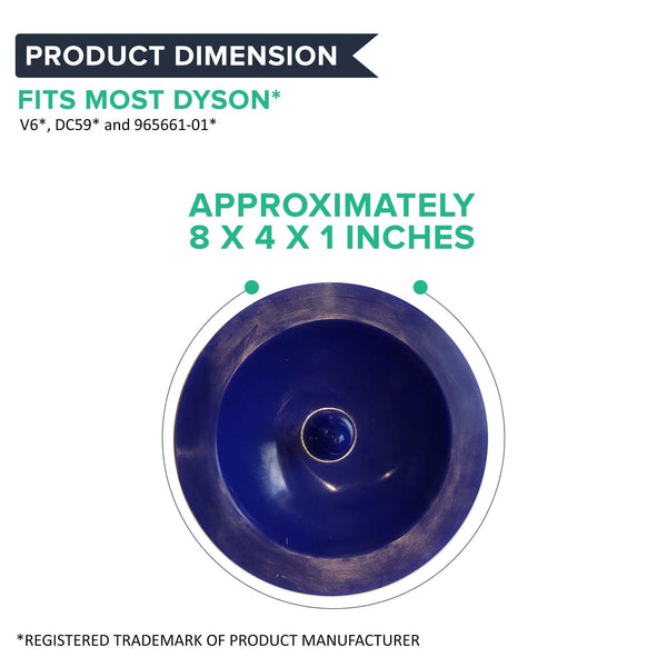 Replacement Washable & Reusable Pre Filter, Fits Dyson V6, Compatible with Part 965661-01