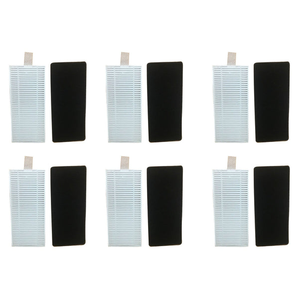 12PK Replacement Filter & Foam, Fit Eufy RoboVac 11 & 11C Vacuum Cleaners