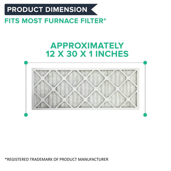 6pk 12x30x1 MERV-11 Air Furnace Filters