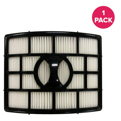 Crucial Air Replacement Vacuum Post Filter Compatible with Shark Vacuum Parts XHF650, Models Rotator Powered Lift-Away, Duoclean Vacs NV650, NV650 NV835 NV651 NV652 NV750, HEPA Style, Bulk