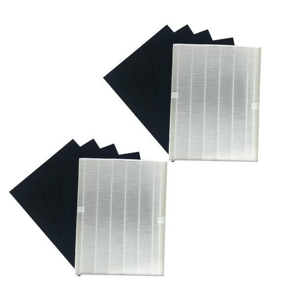 Crucial Air Carbon Filter Replacement Parts Compatible With Winix Part # 115115 - Fits Models 5000, 5000b, 5300, 5500, 6300, 9000, WAC5300, WAC5500, WAC6300 - Capture Debris, Pollen,Particles