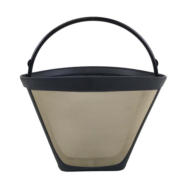 Gold Tone Metal Filter Coffee Filter.